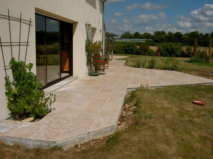 23 best Sols extérieurs en pierre naturelle de Bourgogne images on - pierre de dallage exterieur