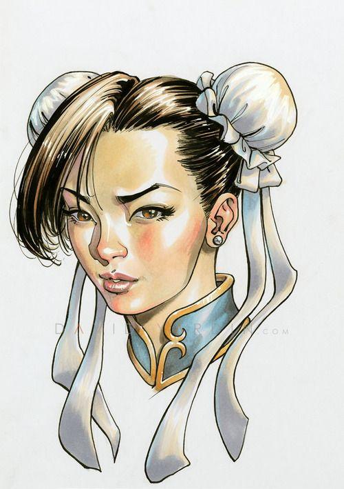 Street Fighter - Chun-Li by David Yardin *