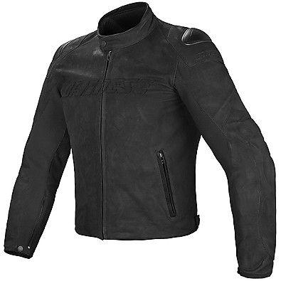 Giacca in pelle Street Rider nero Dainese €419,96 / €344,23 Out Europe Leather Jacket,cafè racer,scrambler,custom,biker. www.motorama.it