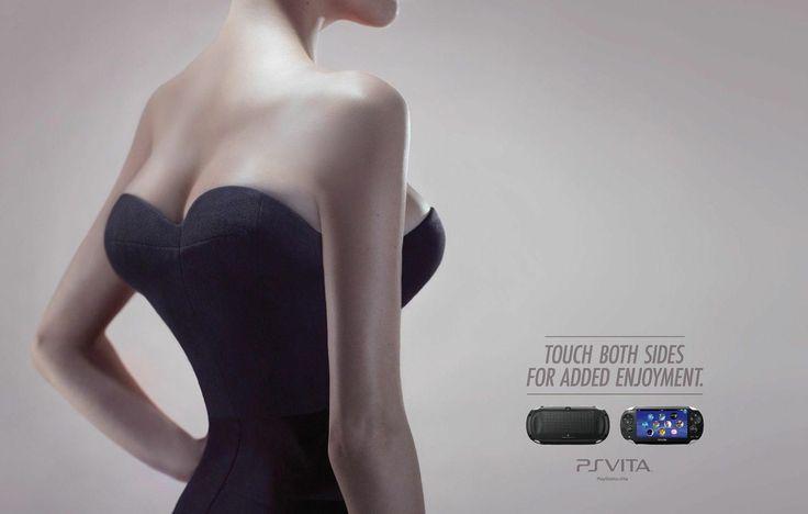 Sony - proving their ad team does more coke than Sega's or Nintendo's.