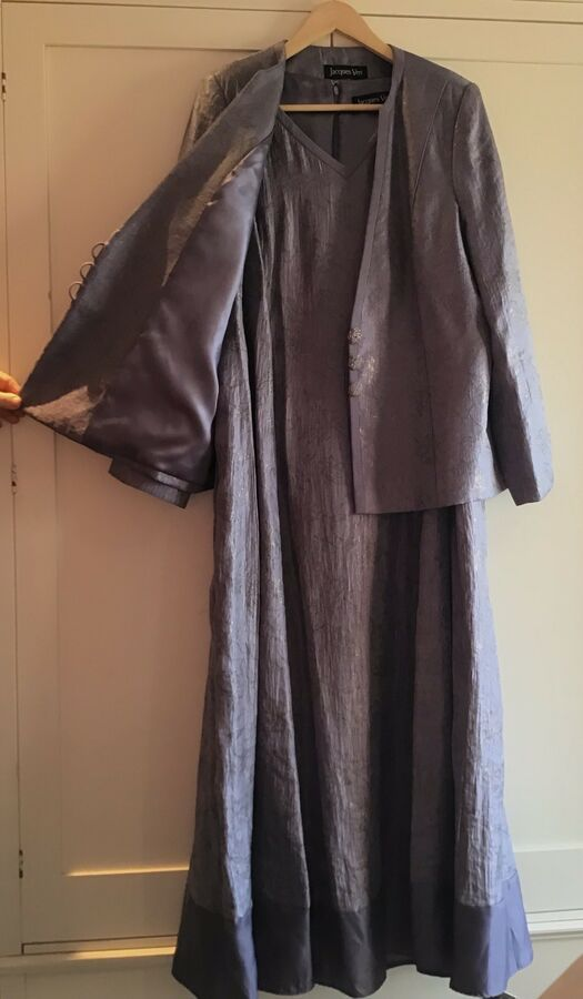7ceaa928b6 Mother Of The Bride Outfit Size 20 Dress And Jacket Jacques Vert Outfit Size
