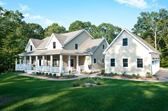 The Autreyville House Plan is a luxurious country house plan featuring a large porch, two-story entry with angled staircase and screened porch. View this elegant and spaciously designed home plan by clicking here: http://www.thehousedesigners.com/plan/the-autreyville-6258/