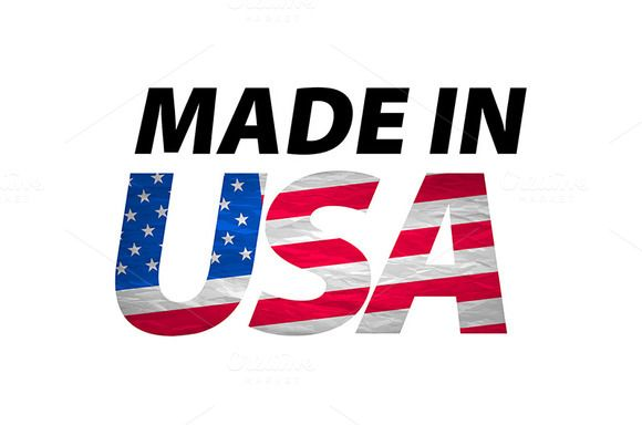 Vector Made in the USA logo by Rommeo79 on @creativemarket