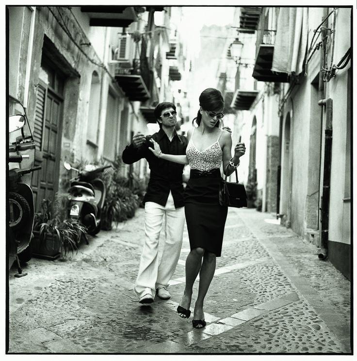"""""""Mambo Italiano""""- Catrinel Menghia by Michel Perez."""