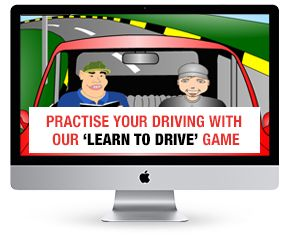 Learn to drive game from Excel Drive