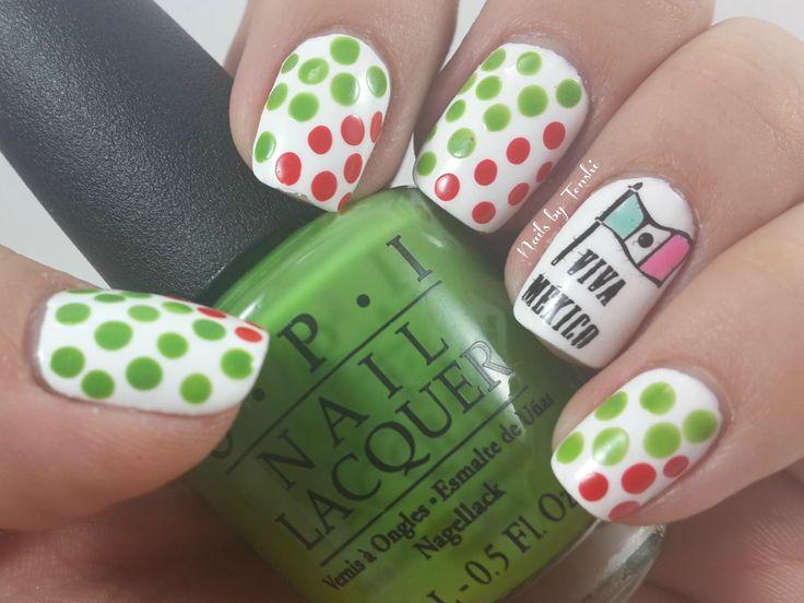 Mejores 13 imágenes de Diseños de uñas para el mes de Septiembre en ...