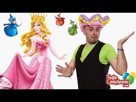 Balloon Princess Crown - Corona Principessa - Tutorial 90 - Feste Compleanni - YouTube