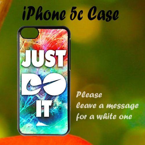 New Nike Cracked Out Galaxy Nebula iPhone 5c Case, Plastic Case, Best Case