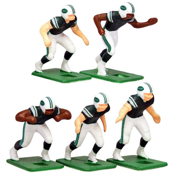 New York Jets Dark Uniform Action Figures Set https://www.fanprint.com/licenses/new-york-jets?ref=5750