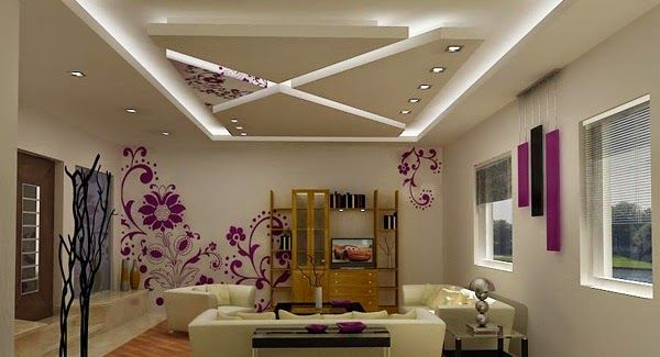 the best catalogs of pop false ceiling designs for living. Black Bedroom Furniture Sets. Home Design Ideas
