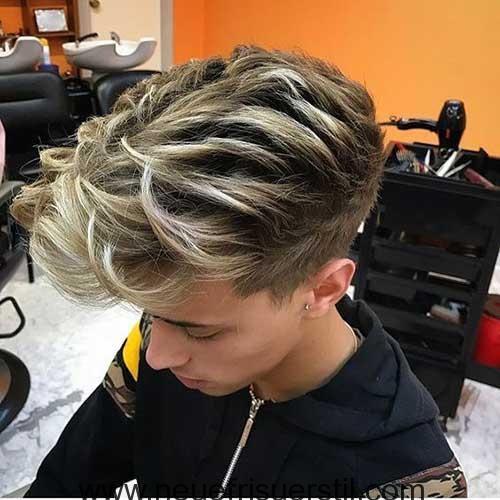 Männer blond gefärbte haare Haare färben