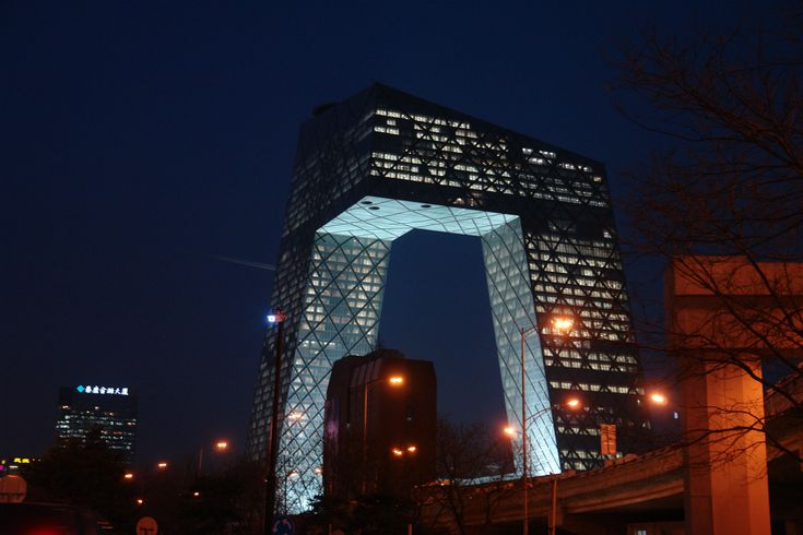 China Central Television Headquarters by OMA   Homesthetics