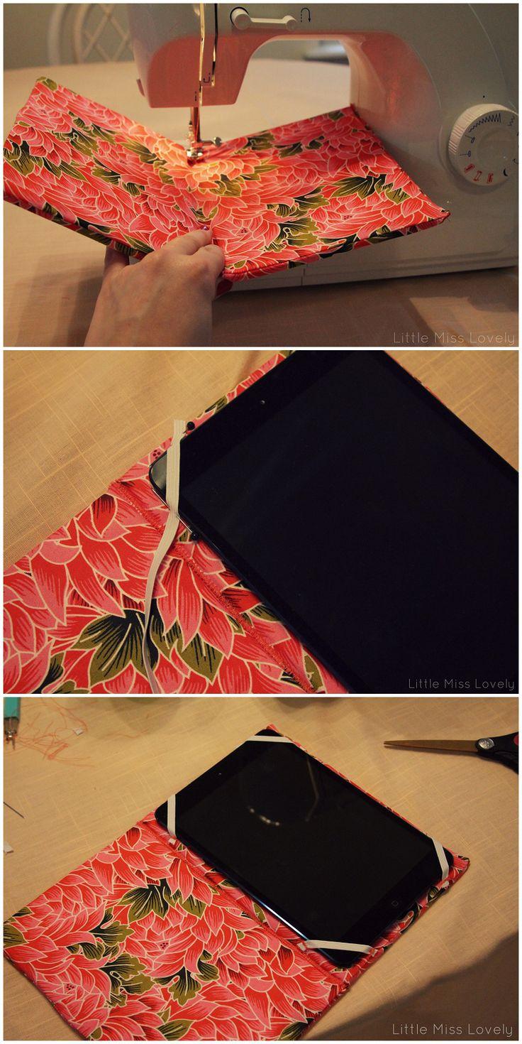 DIY iPad Case by Little Miss Lovely