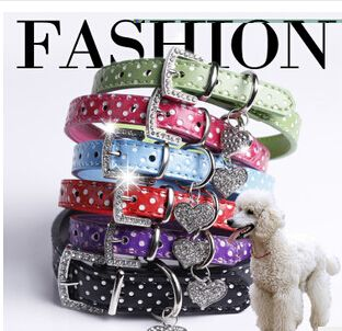 Fancy Dog Collar that is very bright and unique in the dark. - free shipping worldwide
