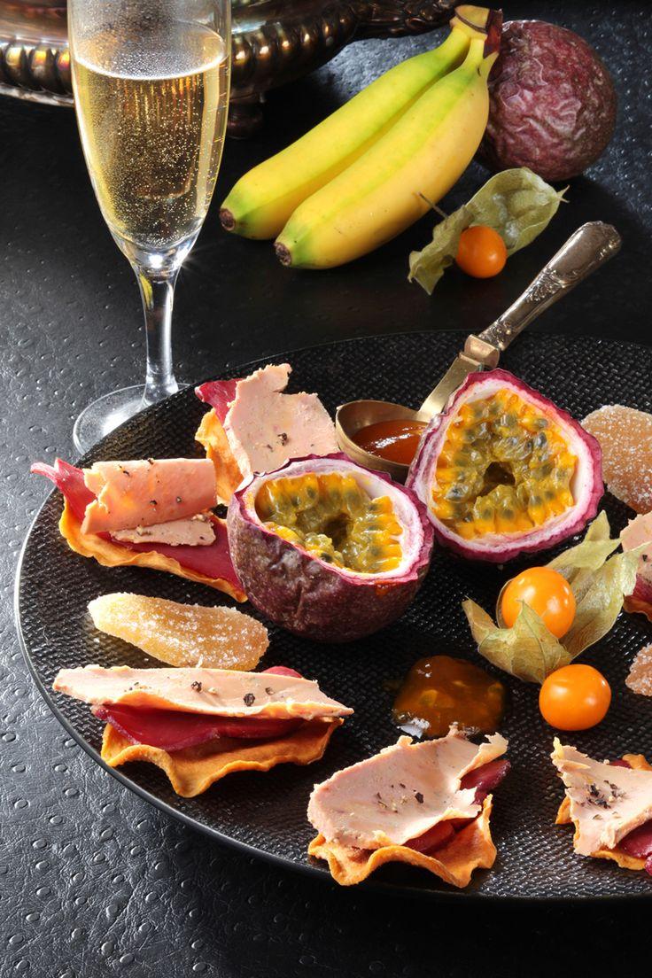 Les « Liaisons Savoureuses », Épisode 4 : Fruits des tropiques et Foie Gras  #foiegras #recette