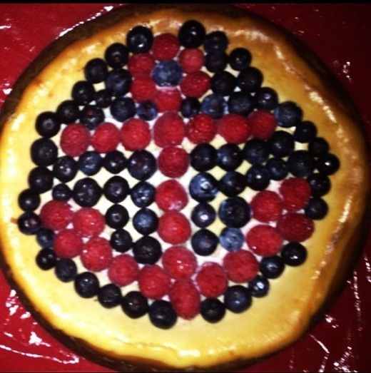 Berry Anchor Cheese Cake