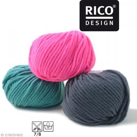 Laine Rico Design - Essentials big - 50 gr - 50% laine vierge 50% acrylique - Photo n°1