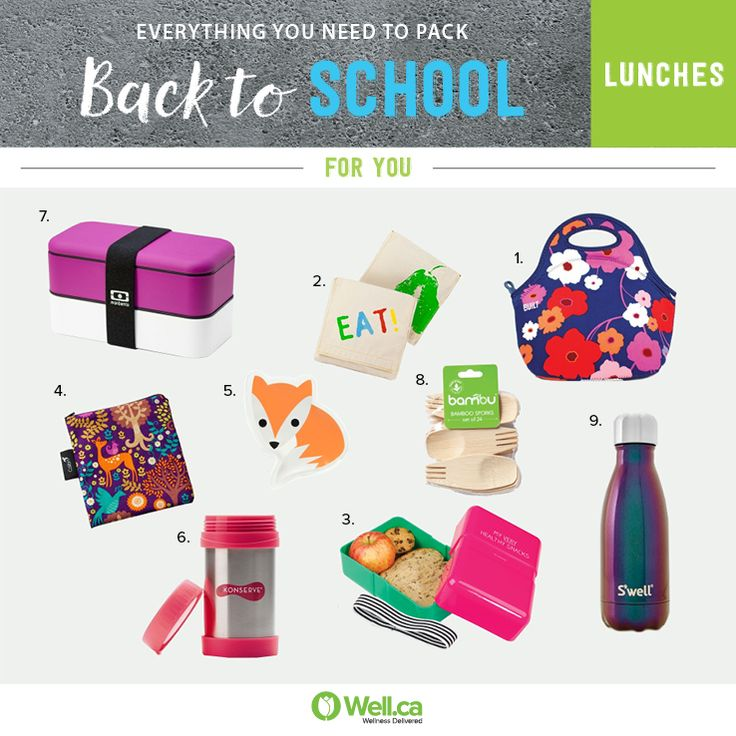 Going Green? Pack a litterless lunch for work with these cute reusable containers!