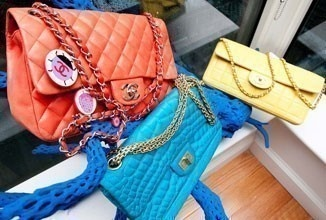 handbag # purse # bag # clutch # pochette # chanel