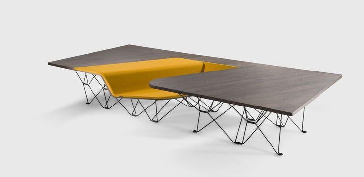 SitTable designed by UNStudio / Ben van Berkel for PROOFF