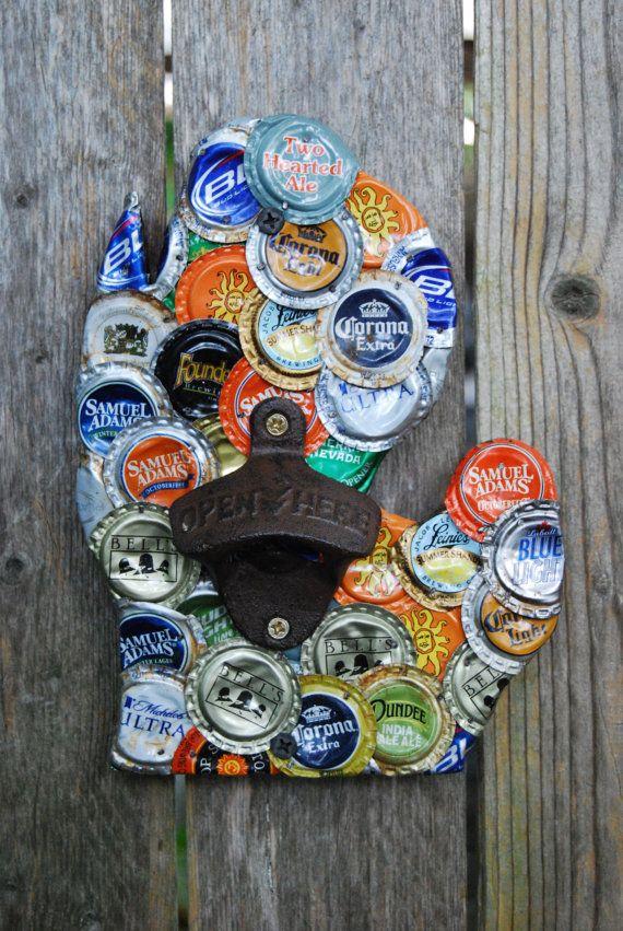Best 25 bottle cap opener diy ideas on pinterest bottle for Bottle cap wall