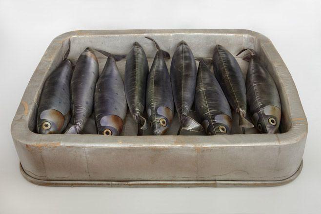 Boite de sardine by François-Xavier Lalanne, 1971. Photo by Alexandre Baillache