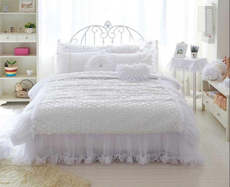 Schlafzimmer ideen shabby chic  Die besten 25+ Shabby chic bedding sets Ideen auf Pinterest ...