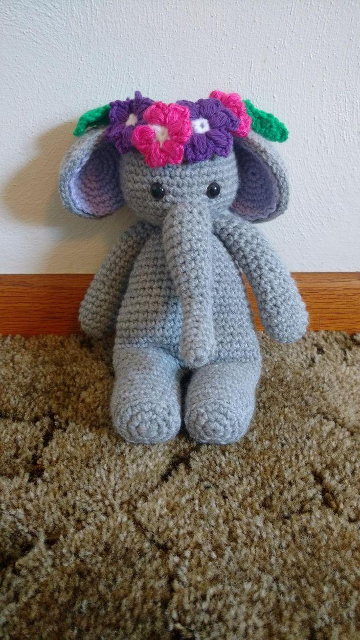 Elephantcrochetamigurumicrochet animalstuffed animal