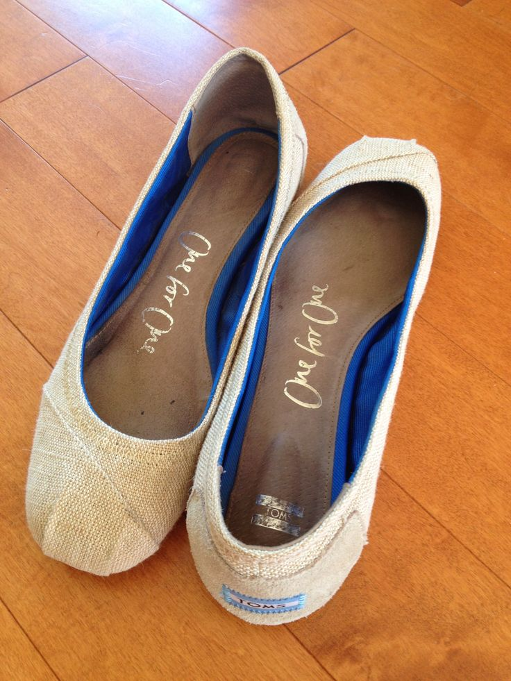 [SOLD] Toms Beige flats, size 10 - $30.00 (barely worn, too small)