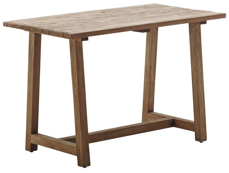 Lucas Schreibtisch von #Affäire by Sika Design  ab 669,00 € Affäire Lucas wird mit exzellent aufbereitetem Teakholz aus alten Häusern und Fischerbooten hergestellt.Nach ein paar Wochen im Außenbereich nimmt das Holz den typischen Teak-Graustich an. #Massivholzmöbel #Vollholzmöbel