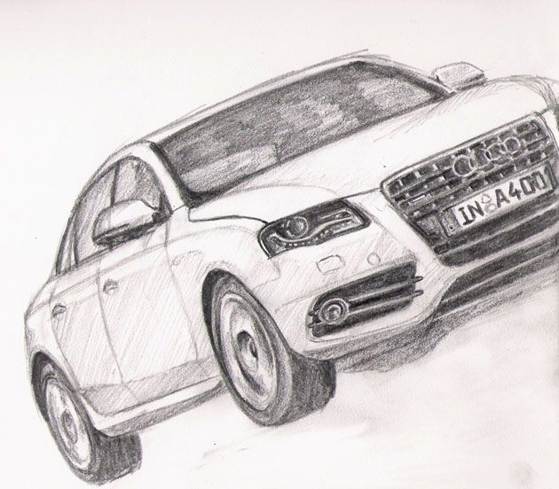 Pencil Drawings Of Sports Cars