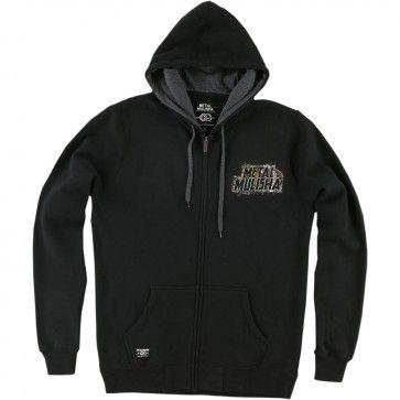 Metal Mulisha Sight Mens Sweatshirts Jackets Zip Up Hoodies