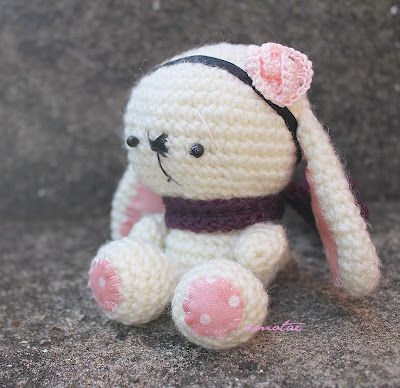 Meet Tilla, the autumn (in NZ) bunny :)