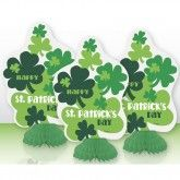 For Parties: St. Patrick's Day Mini Centrepieces (Set of 3)  #decoration #parties  #centrepiece #stpatricksday