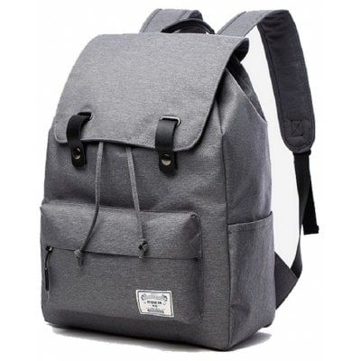 Canvas Student Bag 14 Inch Laptop Backpack $57.38