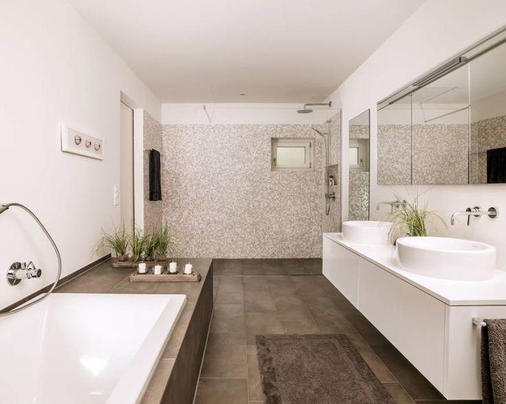 13 best bad images on Pinterest Bathroom, Half bathrooms and - badezimmer aufteilung neubau