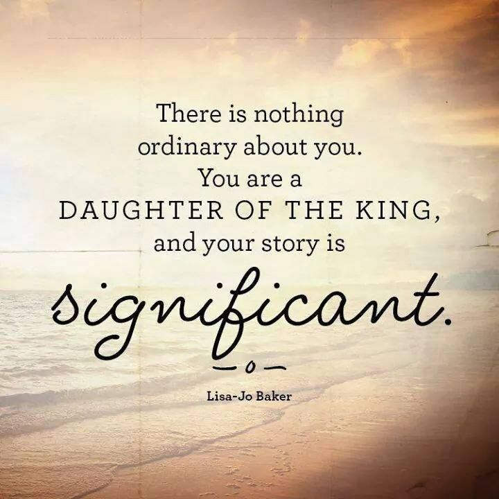 Daughter Of The King Quotes
