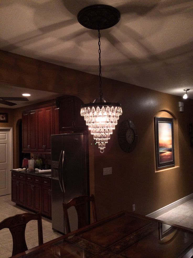 New Light Hung By Hubby Today And I Love It Pottery Barn