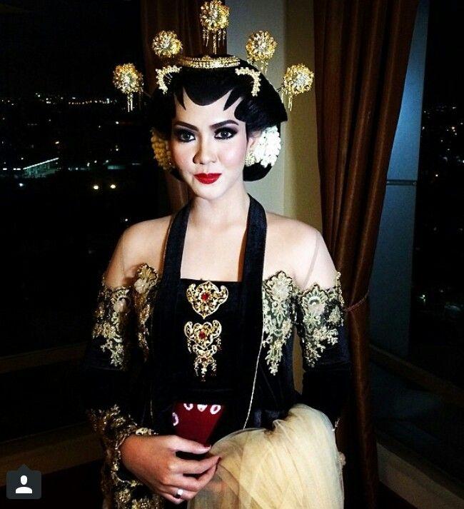 Javanese make up Adat Jawa😍