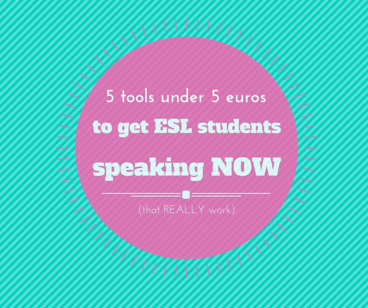 "Are you an ESL teacher? Are you tired of saying, ""speaking English PLEASE?"" To all of your students?? These cheap tools will motivate your students and get them speaking English in no time!"