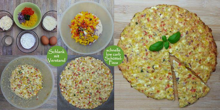 low carb Schüttel-Pizza, vegetarisch Zeit für ein neues Rezept. Hier wider ein schnelles low carb Gericht. Schüttel-Pizza, weildie Zutaten einfachgeschüttelt werden. Deckel nicht vergessen. ;-) I…