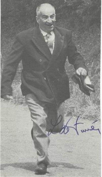 Autograph by Louis de Funes