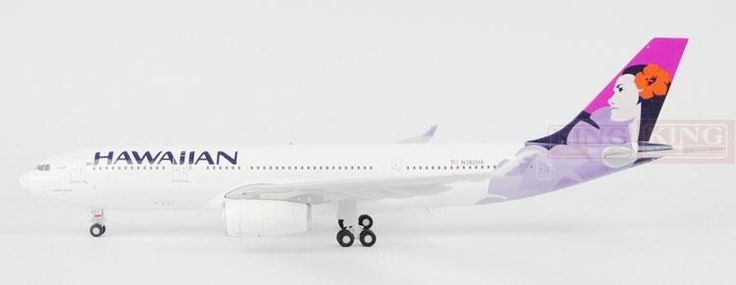196.43$  Watch now - http://aliaay.worldwells.pw/go.php?t=32596038276 - GeminiJets Hawaii Airlines N382HA G2HAL516 1:200 A330-200 commercial jetliners plane model hobby 196.43$