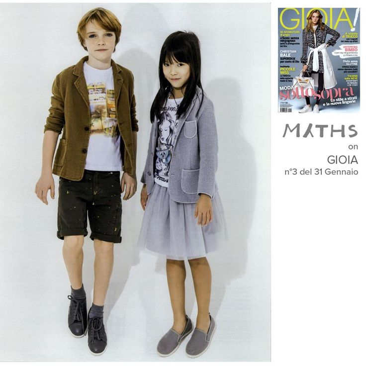 Press // color explosion for kids on Gioia magazine from tomorrow! ‪#‎MythsKids‬ ‪#‎SS15‬ ‪#‎Jacket‬