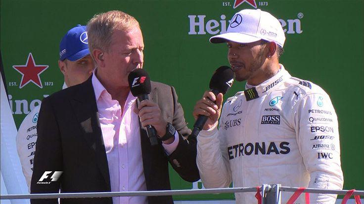Lewis Hamilton (Mercedes AMG) vainqueur du Grand Prix d'Italie 2017