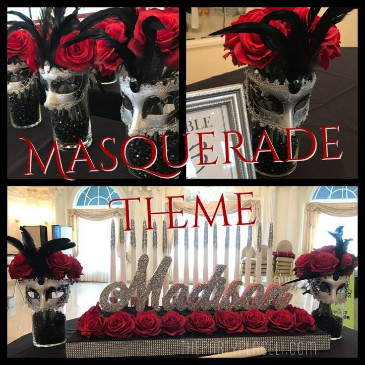 Masquerade Theme Sweet 16   The Party Place LI   The Party Specialists