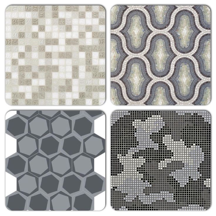 Our focus today is Grey, featuring our Smoke mix, Chick Black decor, On/Off Smoked cement tile & Mimetico B decor.