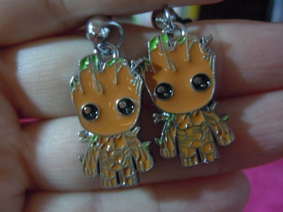 Groot Earrings Inspired by Guardians of the Galaxy by laminartz