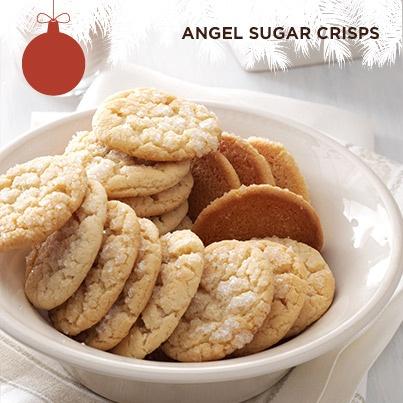 angel sugar crisps angel cookies sugar cookies almond cookies sugar ...