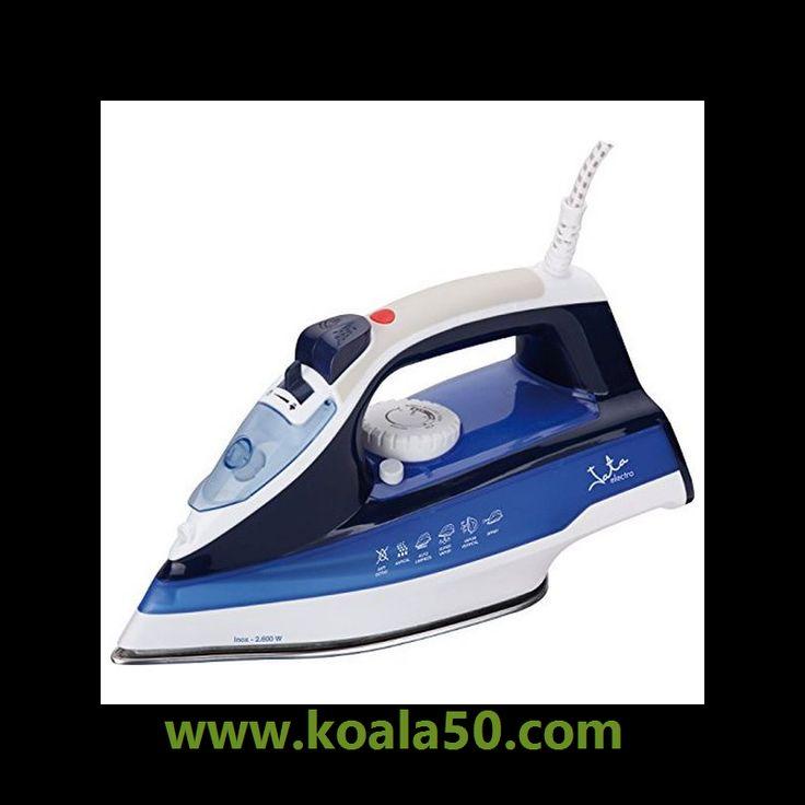 Plancha de Vapor JATA PL618 2600W - 18,77 €   Si buscas electrodomésticos para tu hogar a los mejores precios, ¡no te pierdas Plancha de Vapor JATA PL618 2600W y una amplia selección de pequeño electrodoméstico de calidad!Potencia 2.600...  http://www.koala50.com/secadoras-planchas-tendederos/plancha-de-vapor-jata-pl618-2600w